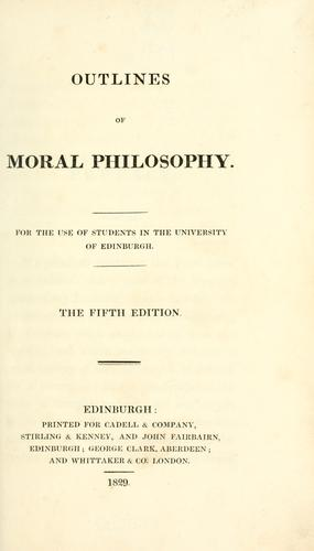 Outlines of moral philosophy …