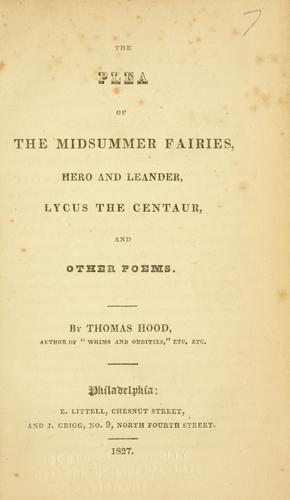 The plea of the midsummer fairies