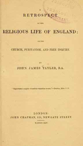 Download A retrospect of the religious life of England