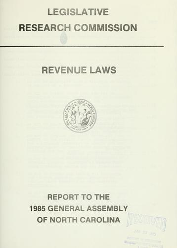 Download Revenue laws