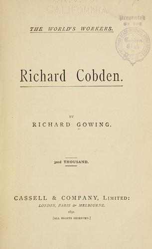 Richard Cobden.