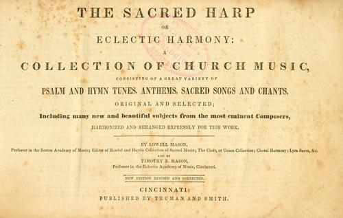 Download The sacred harp or, eclectic harmony