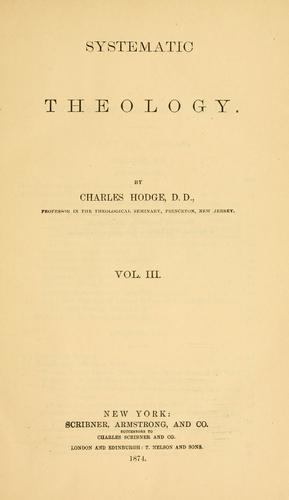 Download Systematic theology.