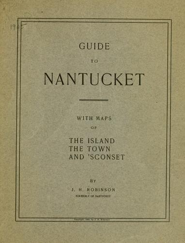 Download Guide to Nantucket.