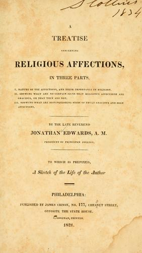 Download Treatise concerning the religious affections …