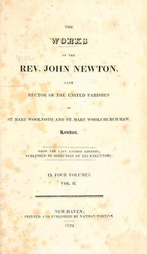 Download The works of the Rev. John Newton …