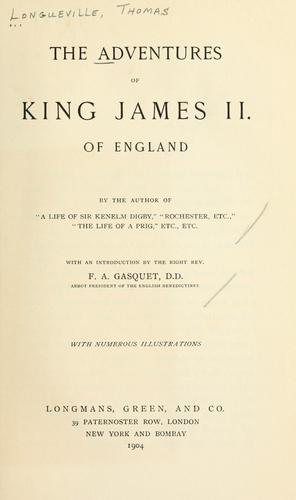Download The adventures of King James II. of England