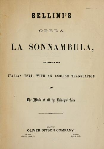 Download Bellini's opera, La sonnambula