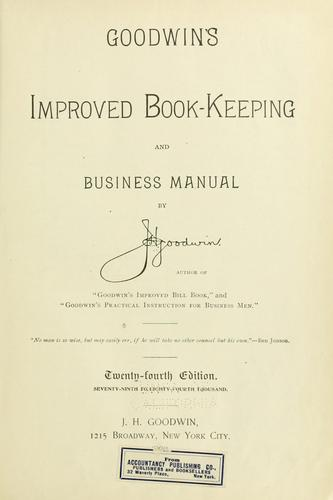 Download Goodwin's improved book-keeping and business manual