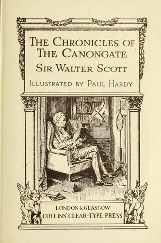 Download The chronicles of the Canongate.