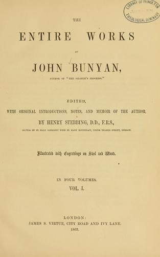 Download The entire works of John Bunyan