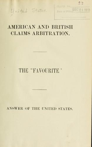 Download American and British claims arbitration.