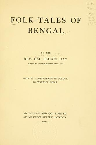 Folk-tales of Bengal by Lal Behari Day