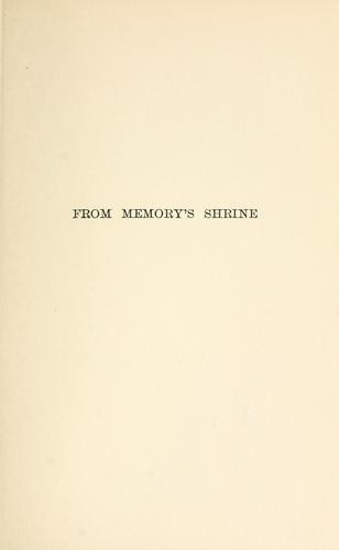 Download From memory's shrine