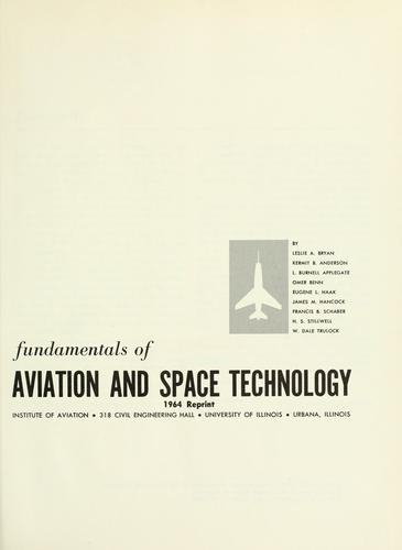 Fundamentals of aviation and space technology