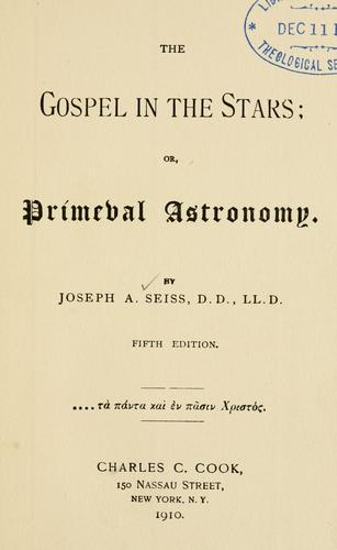 Download The gospel in the stars