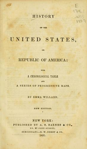 History of the United States, or, Republic of America