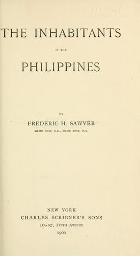 Download The inhabitants of the Philippines