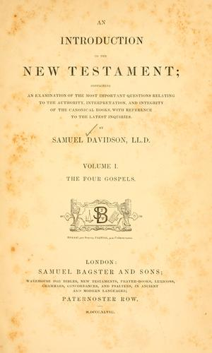 Download An introduction to the New Testament