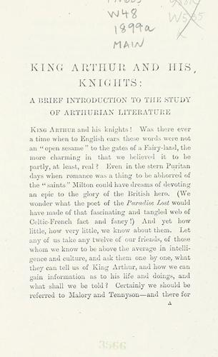 Download King Arthur and his knights