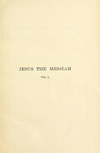Download The life and times of Jesus the Messiah