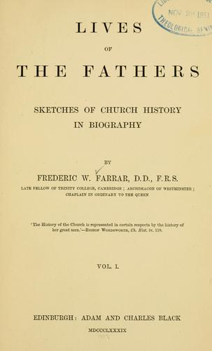 Download Lives of the Fathers