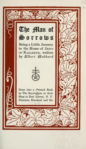 Download The Man of sorrows
