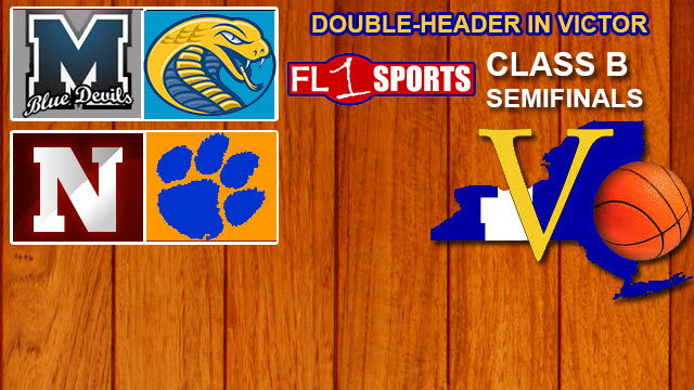 FL1 RADIO REPLAY: Section V Class B Semifinal Doubleheader at Victor HS on FL1 Sports (Mynderse vs. Early College / Newark vs. Livonia)