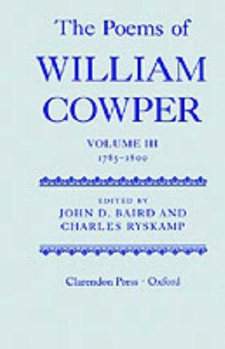 The Poems of William Cowper: Volume III by William Cowper