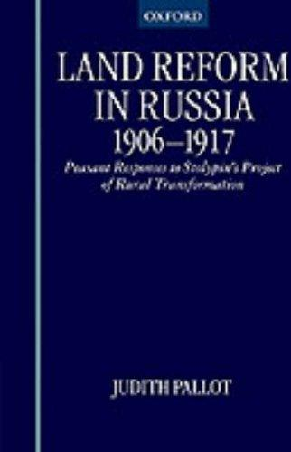 Land reform in Russia, 1906-1917