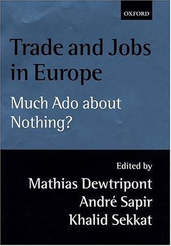 Trade and jobs in Europe by
