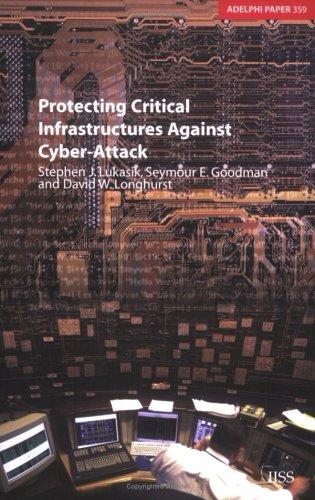 Protecting critical infrastructures against cyber-attack by Stephen J. Lukasik