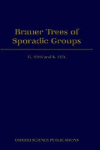 Brauer trees of sporadic groups by G. Hiss