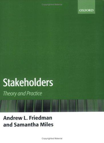 Stakeholders by Andrew L. Friedman