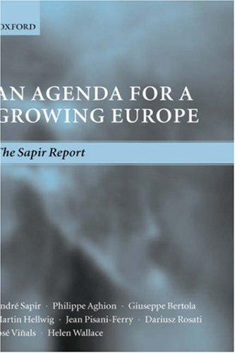 An agenda for a growing Europe by