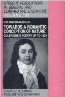 Towards a romantic conception of nature by Rookmaaker, H. R.