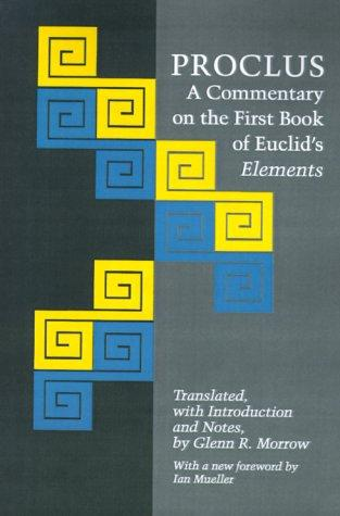 A commentary on the first book of Euclid's Elements