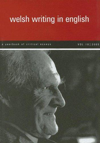 Welsh Writing in English by Tony Brown