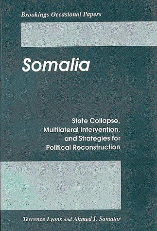 Somalia by Terrence Lyons
