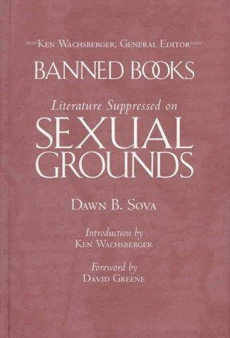 Literature suppressed on sexual grounds by Dawn B. Sova