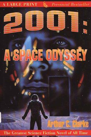 2001: A Space Odyssey (G K Hall Perennial Large Print Book)