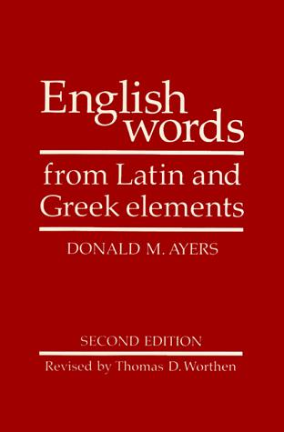Image 0 of English Words from Latin and Greek Elements