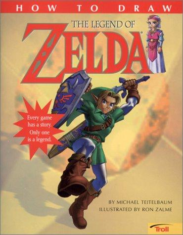 How to Draw the Legend of Zelda by Ron Zalme