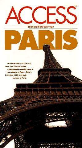 Access Paris by Richard Saul Wurman