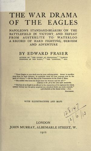 The war drama of the eagles by Edward Fraser