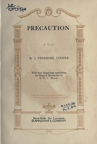 Precaution by James Fenimore Cooper