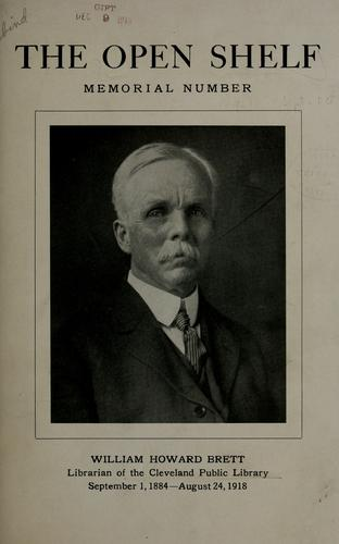 William Howard Brett, librarian of the Cleveland Public Library by